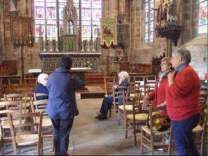 Visites de l'église saint Yves lors des journées du patrimoine 2017